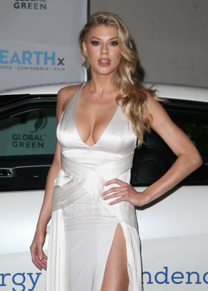 Charlotte McKinney - Global Green Pre Oscars Party 2018 in Los Angeles