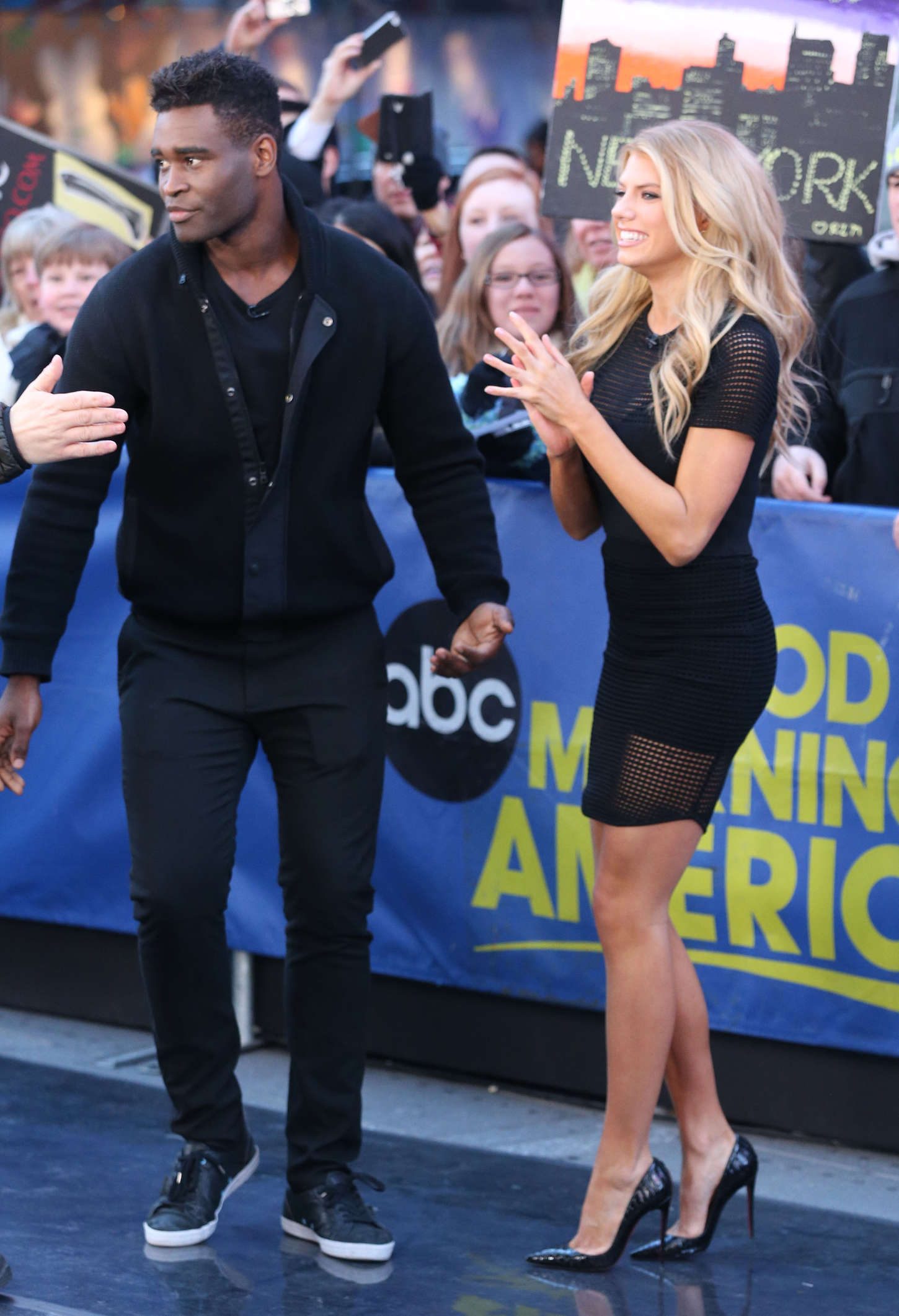 Charlotte McKinney: Good Morning America -18 - GotCeleb