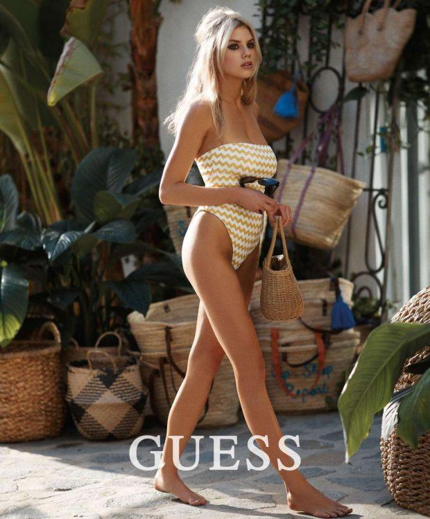 Charlotte McKinney - Guess Swimwear (Spring & Summer 2019)