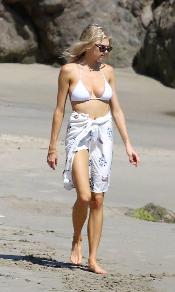 Charlotte Mckinney - In a bikini on the beach in Los Angeles