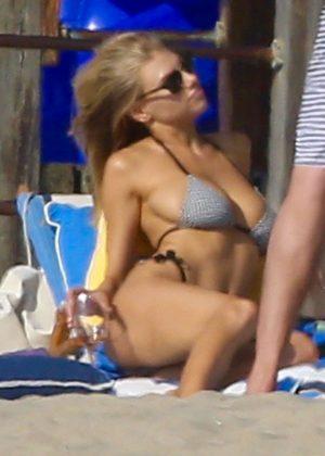Charlotte McKinney in Bikini in Santa Monica