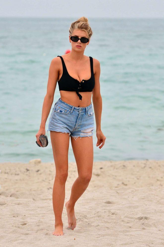 Charlotte McKinney: in Bikini Top 2017 -24