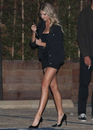 Charlotte McKinney in Short Dress out in Malibu