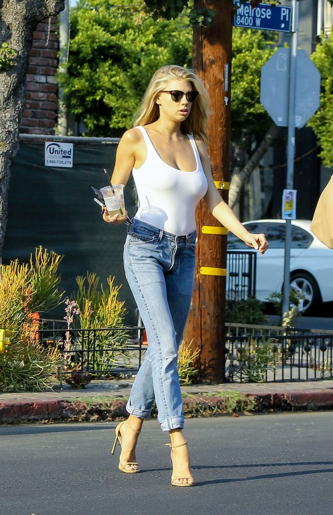 144300165116c Charlotte McKinney in White Tank and Jeans -03 – GotCeleb
