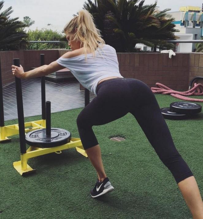 Charlotte McKinney - Instagram pics