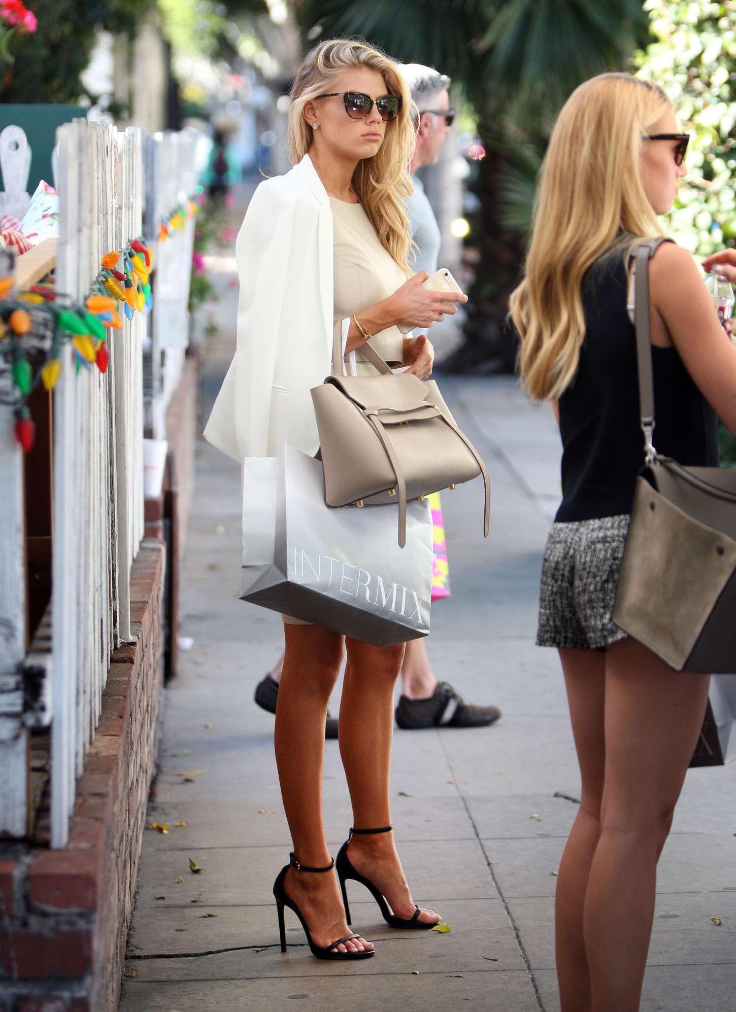 Charlotte McKinney at Intermix Clothing Store -20 - GotCeleb