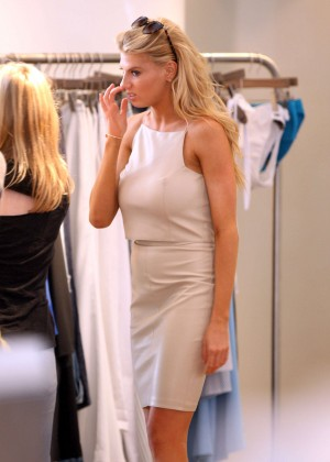 Charlotte McKinney at Intermix Clothing Store -24