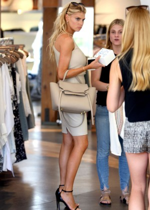 Charlotte McKinney at Intermix Clothing Store -25