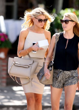 Charlotte McKinney at Intermix Clothing Store -30