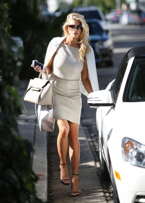 Charlotte McKinney at Intermix Clothing Store -35