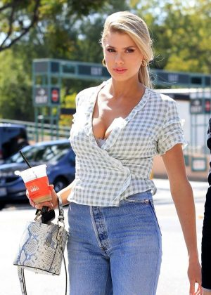 Charlotte Mckinney - Looking Hot In Jeans In Los Angeles