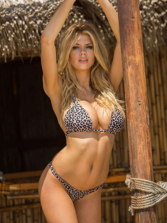 Charlotte McKinney in Bikini in Mexico