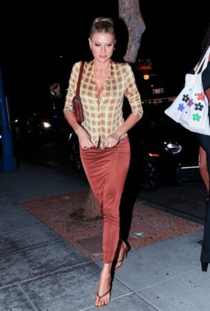 Charlotte McKinney - On a night out at Delilah in West Hollywood