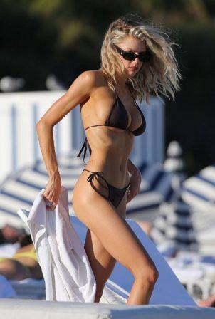 Charlotte McKinney - On the Beach in Miami