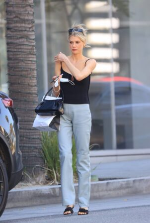 Charlotte McKinney - out for lunch at Avra In Beverly Hills