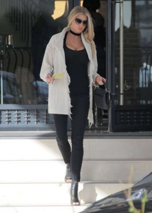 Charlotte McKinney out in Beverly Hills -01