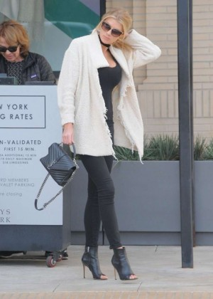 Charlotte McKinney out in Beverly Hills -02