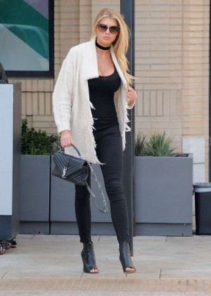 Charlotte McKinney out in Beverly Hills -05