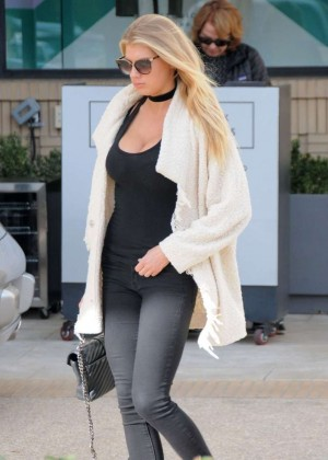 Charlotte McKinney out in Beverly Hills -12