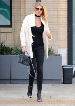 Charlotte McKinney out in Beverly Hills -15