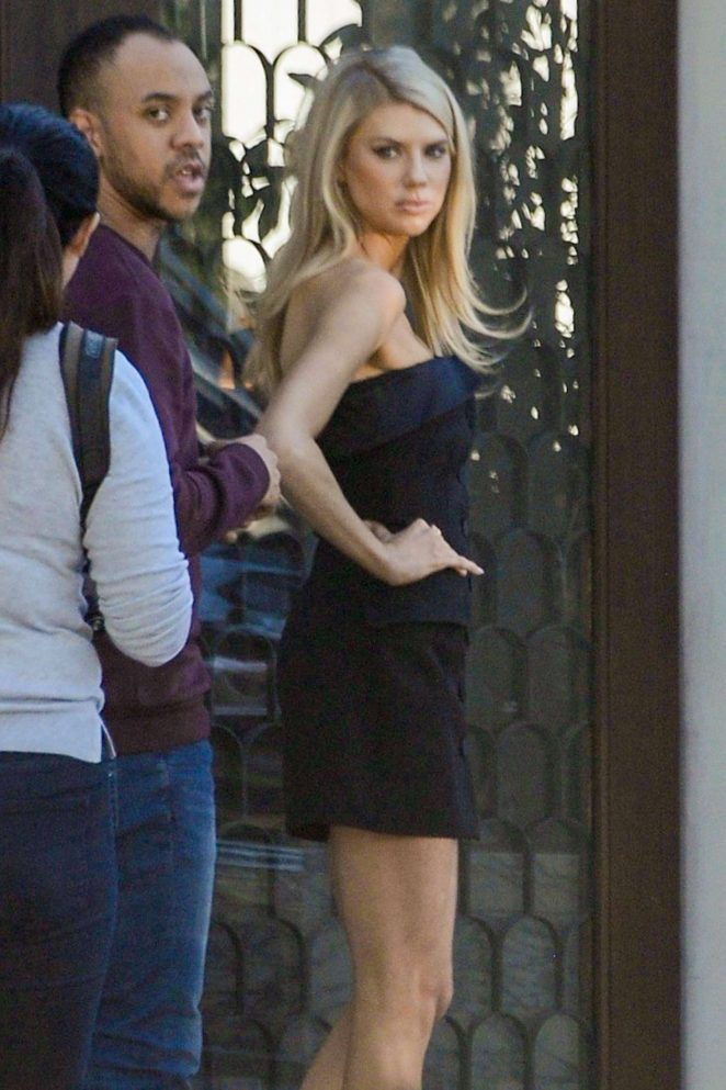 Charlotte McKinney – Photoshoot at Cecconi's in West Hollywood