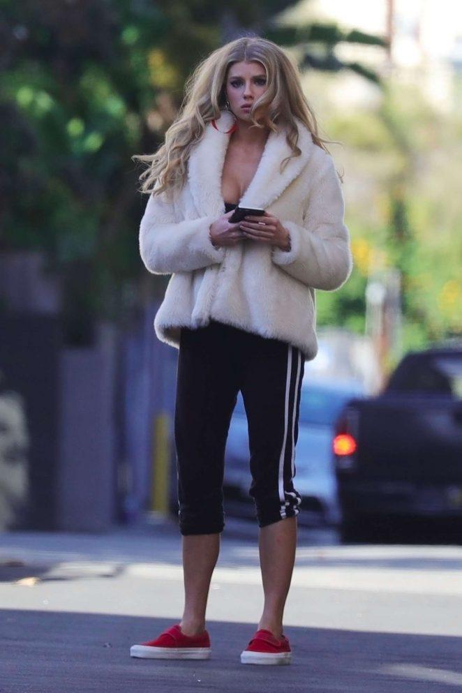 Charlotte McKinney - Photoshoot in Los Angeles