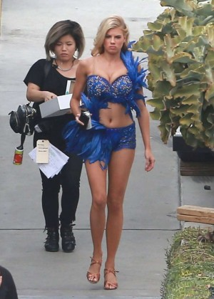 Charlotte McKinney - Prepares for DWTS in LA