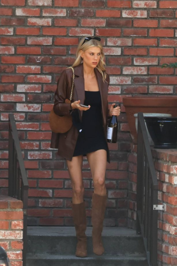 Charlotte McKinney - Seen at Nobu in Malibu