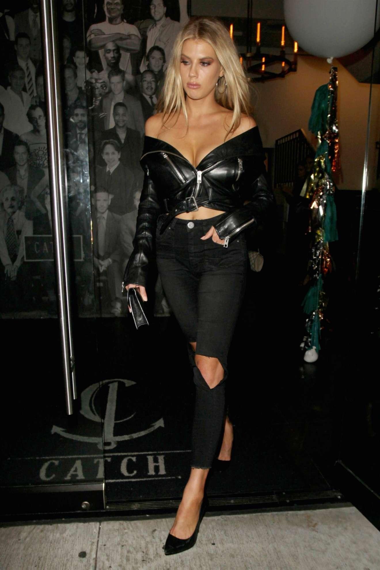 Charlotte  McKinney 2017 : Charlotte McKinney: Seen Leaving Catch LA restaurant in West Hollywood-22