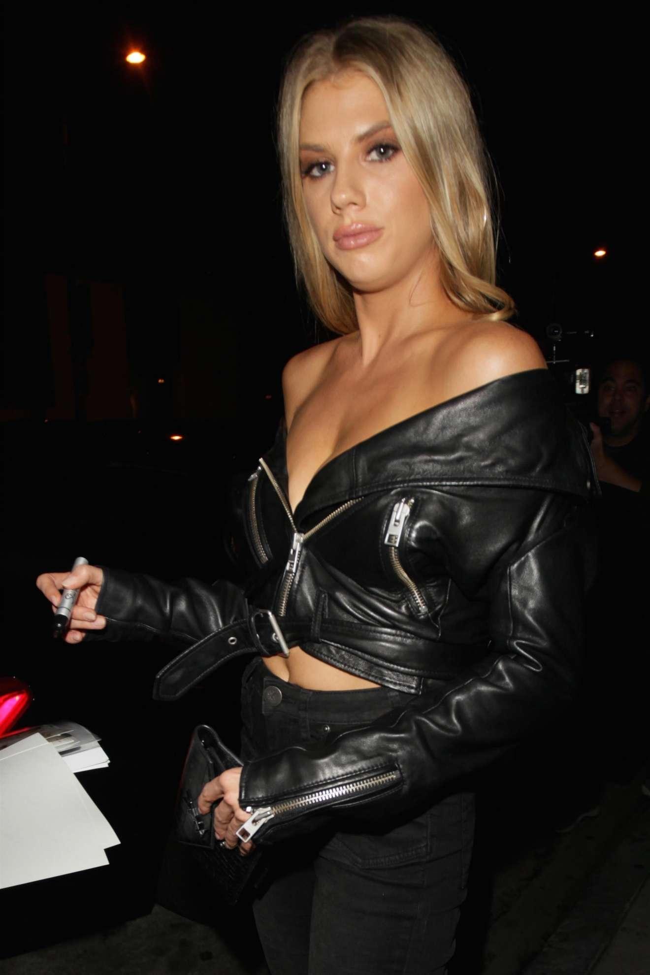 Charlotte  McKinney 2017 : Charlotte McKinney: Seen Leaving Catch LA restaurant in West Hollywood-34