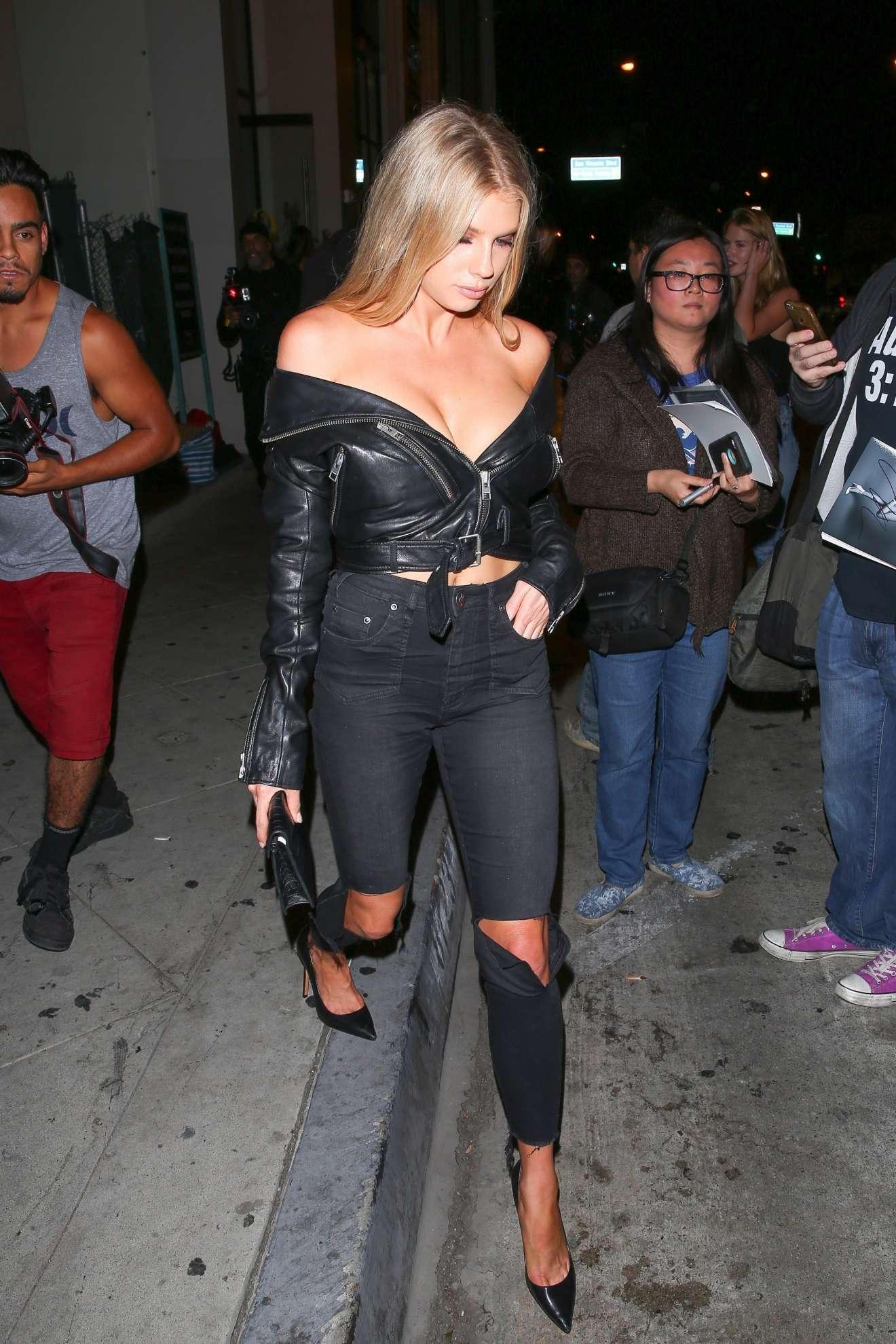 Charlotte  McKinney 2017 : Charlotte McKinney: Seen Leaving Catch LA restaurant in West Hollywood-37