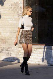 Charlotte McKinney - shopping in Beverly Hills