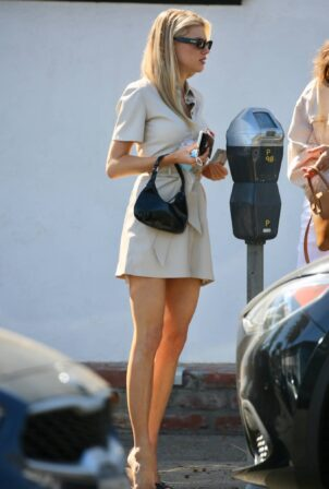 Charlotte McKinney - Steps out for business meetings in L.A.