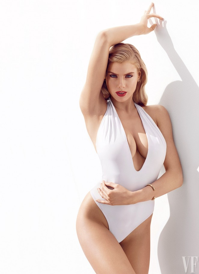 Charlotte McKinney - Vanity Fair Photoshoot 2015
