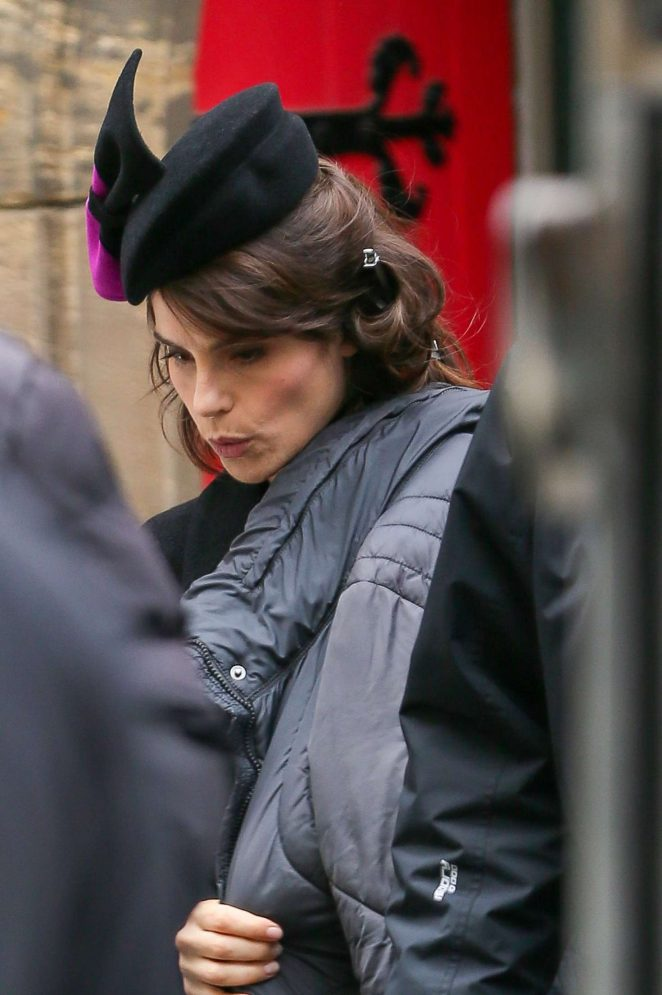 Charlotte Riley - Filming of 'King Charles III' set in Yorkshire