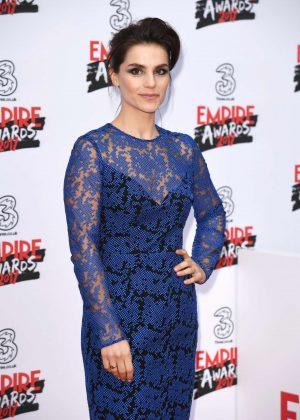 Charlotte Riley - Three Empire Awards 2017 in London