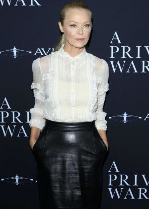 Charlotte Ross - 'A Private War' Premiere in Los Angeles