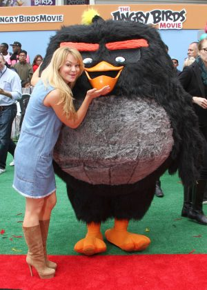 Charlotte Ross - 'Angry Birds' Premiere in Westwood