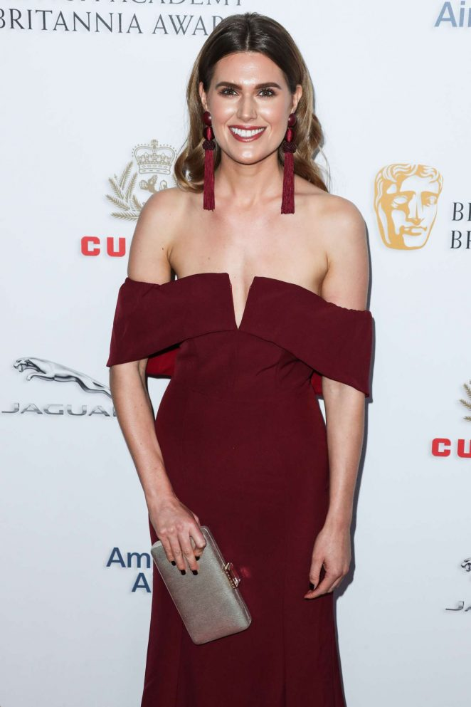 Charlotte Rothwell - British Academy Britannia Awards 2018 in LA