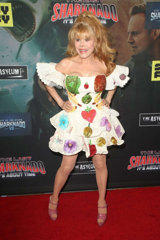 Charo - 'The Last Sharknado: It's About Time' Premiere in LA