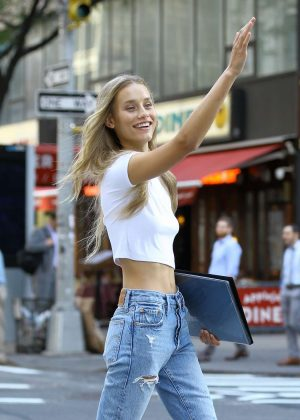 Chase Carter - Callbacks for the Victoria's Secret Fashion Show 2018 in NYC