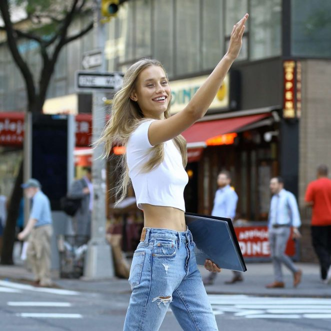 Chase Carter – Callbacks for the Victoria's Secret Fashion Show 2018 in NYC