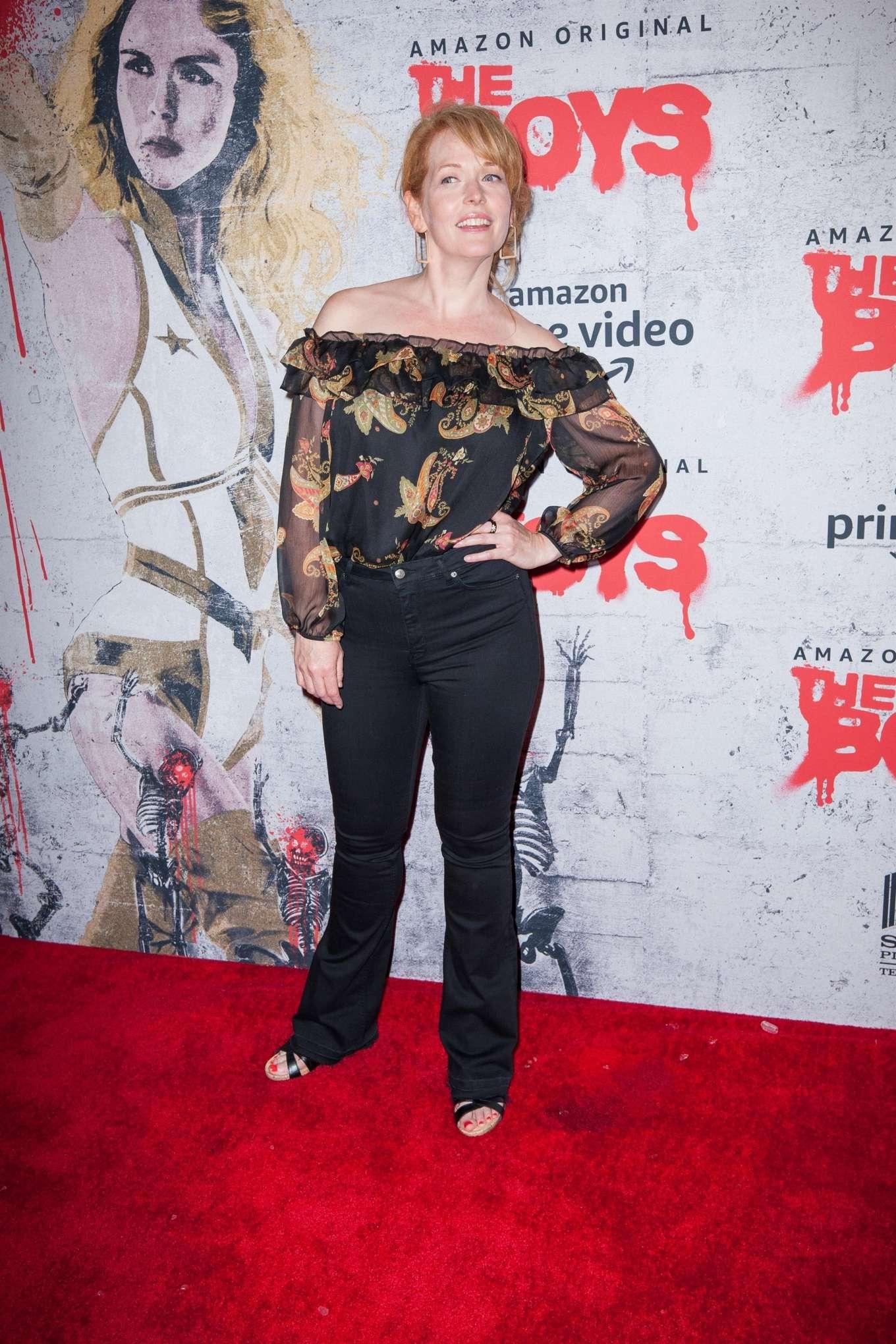 Chelah Horsdal 2019 : Chelah Horsdal – The Boys Photocall at Comic Con San Diego 2019-04