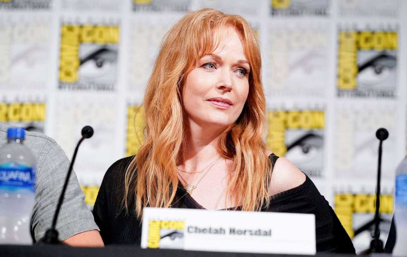 Chelah Horsdal - 'The Man in the High Castle' Panel at Comic Con San Diego 2019