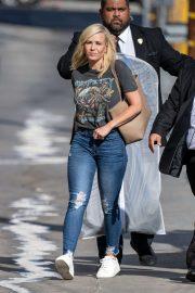 Chelsea Handler - Arrives at Jimmy Kimmel Live in Los Angeles