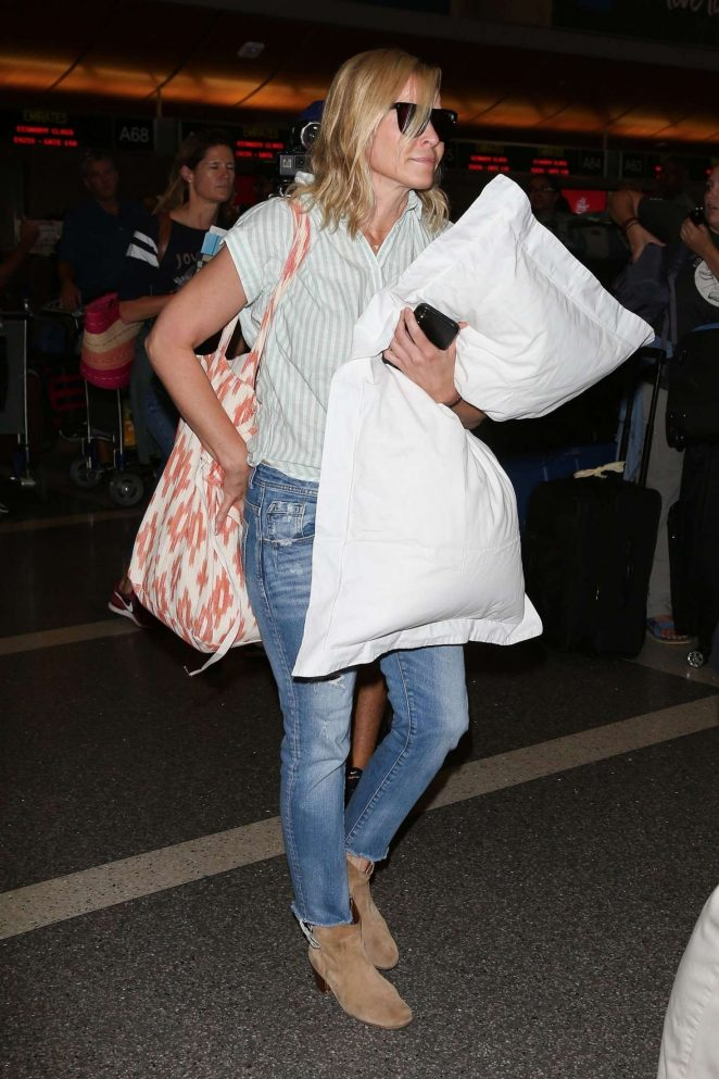 Chelsea Handler at LAX International Airport in Los Angeles