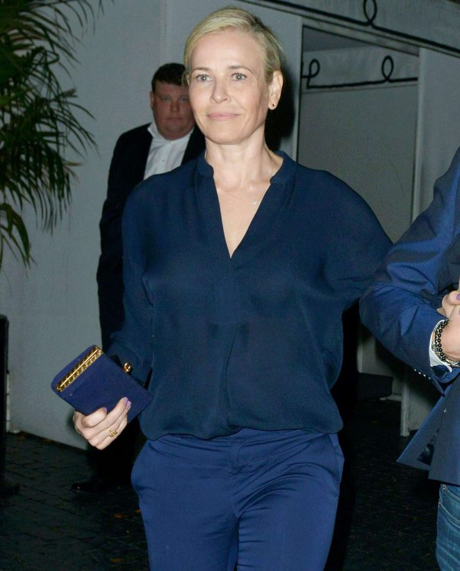 Chelsea Handler - Leaving Chateau Marmont in Los Angeles