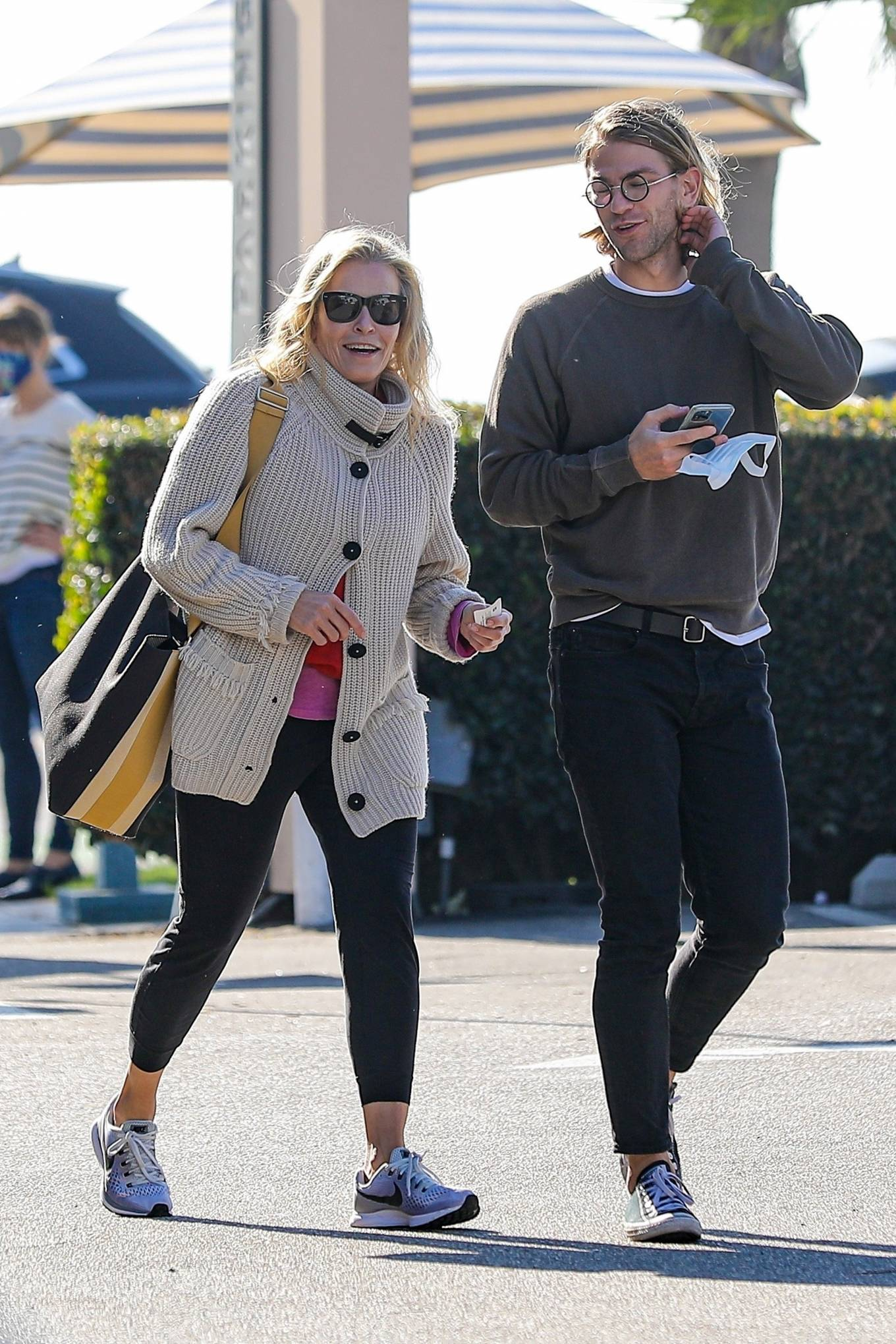 Chelsea Handler - Out for a lunch at Blue Plate Oysterette in Santa Monica
