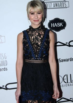 Chelsea Kane - 2017 Make-Up Artist and Hair Stylists Guild Awards in Los Angeles