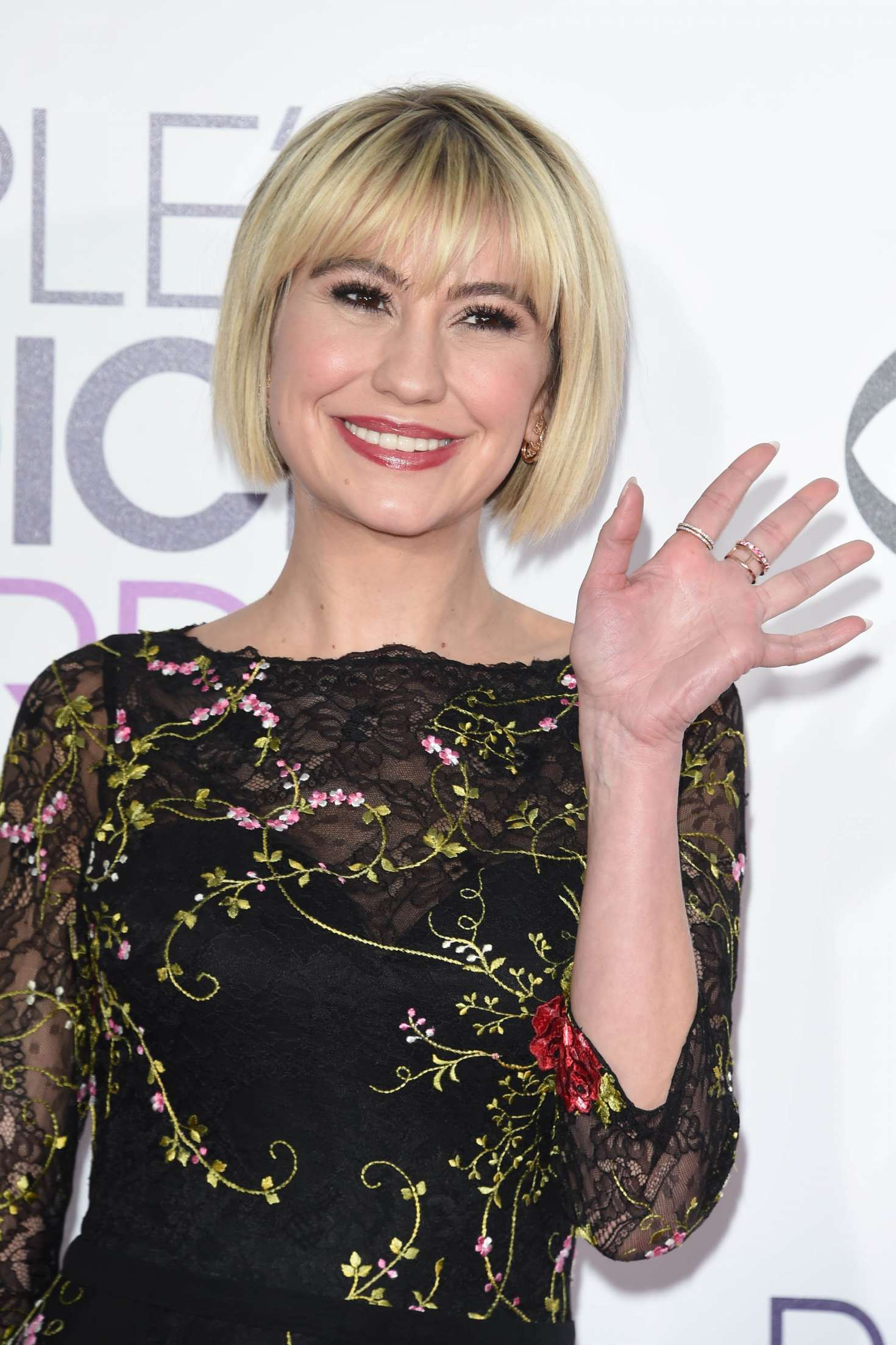 Chelsea Kane: 2017 Peoples Choice Awards -01 - GotCeleb